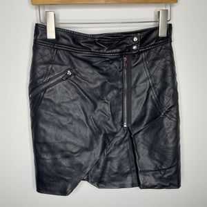 🎁4/20$🎁 GUESS asymmetrical leather skirt